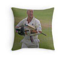 Out!!, but not for a duck. Throw Pillow