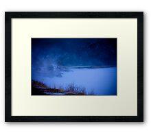 Barker Dam Framed Print