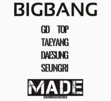 BIGBANG 'MADE' by bunbunmisc