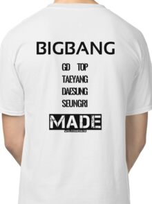 BIGBANG 'MADE' FANMADE Classic T-Shirt