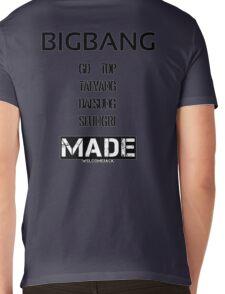 BIGBANG 'MADE' FANMADE Mens V-Neck T-Shirt