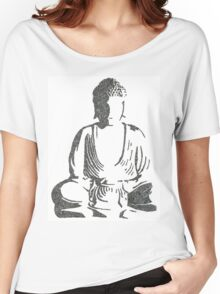 The Intricacies of the Meditating Buddha Women's Relaxed Fit T-Shirt