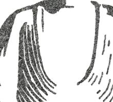 The Intricacies of the Meditating Buddha Sticker