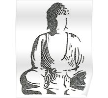 The Intricacies of the Meditating Buddha Poster
