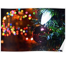Holiday Lights Poster