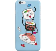 Surfin' sushi iPhone Case/Skin
