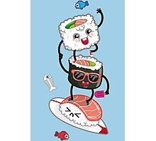 Surfin' sushi Photographic Print