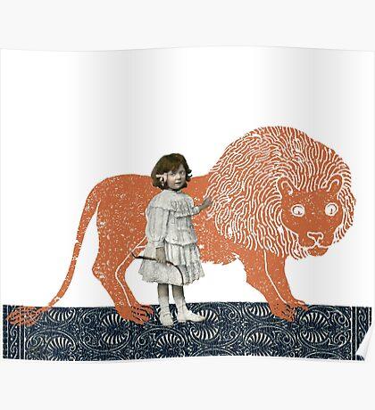 Pet Lion Poster