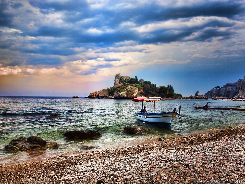 how to get to isola bella taormina