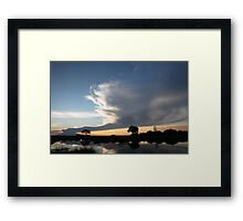 Twilight on the Linyanti Framed Print