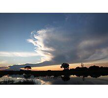Twilight on the Linyanti Photographic Print
