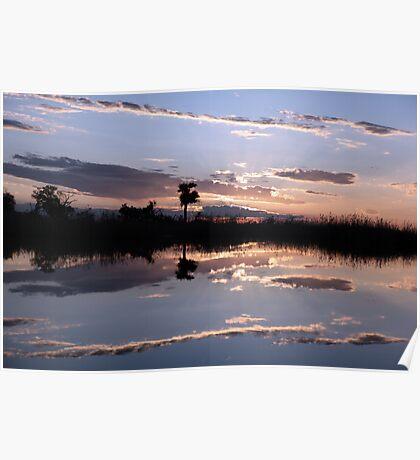 Sundown on the delta Poster