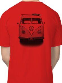 Volkswagen Kombi Newsprint BW © Classic T-Shirt