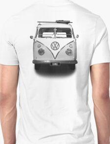 Volkswagen Kombi Newsprint BW © T-Shirt