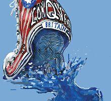 """I Conquer Britain"" by LJG  Art & Illustration"