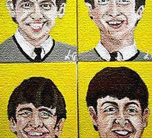 """The Fab Four"" by LJG  Art & Illustration"