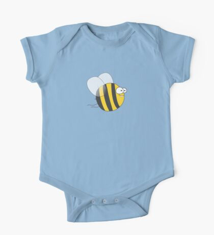 Cool & Crazy Funny Bee / Bumble Bee (Sweet & Cute) One Piece - Short Sleeve