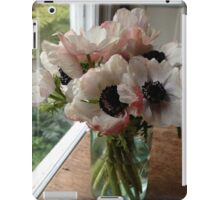 Anemones in a Mason Jar iPad Case/Skin