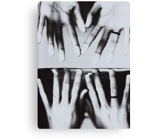 Deep Discomfort - b&w Canvas Print