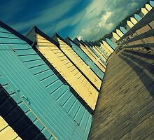 Beach Huts by TimbosPics