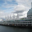 White Sails,  Vancouver, Canada by Anthea  Slade