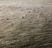 Surfers by rtuttlephoto