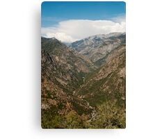 King River - King's Canyon Scenic Drive Canvas Print