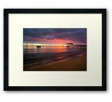 Sullivan Bay, Sorrento - sun is rising Framed Print