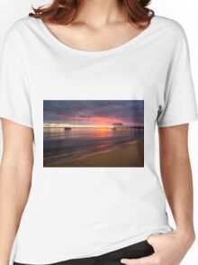 Sullivan Bay, Sorrento - sun is rising Women's Relaxed Fit T-Shirt