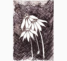 Daisies Black ink sketch T-Shirt