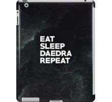 Eat Sleep Daedra Repeat iPad Case/Skin