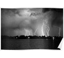 Lake Lightning Poster