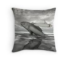 The Eccentric Throw Pillow