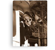 Welcome Aboard ! (En Route To The Bermuda Triangle) Canvas Print