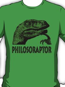 Philosoraptor T-Shirt