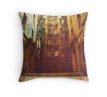 town of the living dead. Throw Pillow