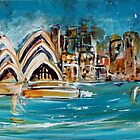 Sydney Harbour by Wendy Eriksson