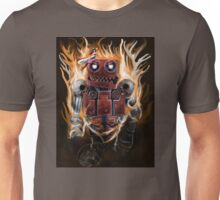 The Lady And the Robot Unisex T-Shirt