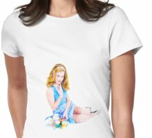 Cup Cake Grrl  Womens Fitted T-Shirt
