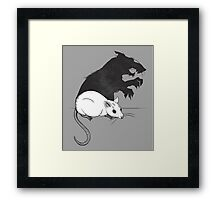 The Strange Case of Dr. Mouse and Mr. Rat Framed Print