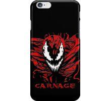 Carnage Primed iPhone Case/Skin