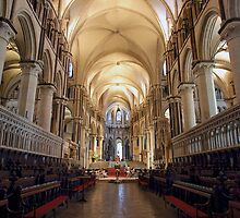 Canterbury Cathedral Interior by Carole-Anne