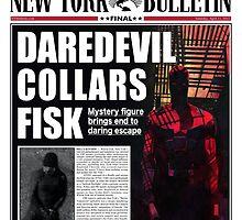 Daredevil Newspaper  by LondonBound