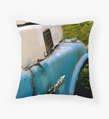 Abandoned 2 Throw Pillow