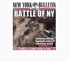'Battle of New York' Newspaper cover  Unisex T-Shirt