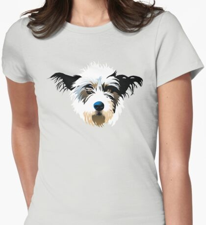 pooch Womens Fitted T-Shirt