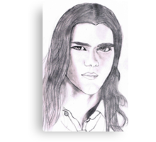 Jacob Black Metal Print