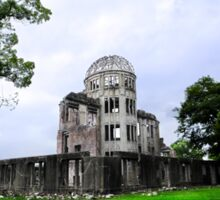 Hiroshima A-Bomb Dome Sticker