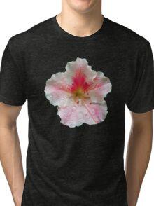 'Pink Azalea Macro' Tri-blend T-Shirt