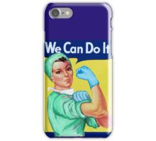 Rosie the Riveter Medical or Surgical Doctor  iPhone Case/Skin
